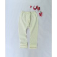 Two Feet White Elasticated-Waist Cotton Churidar